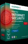 Касперсский Internet Security для всех устройств. Изображение коробки.