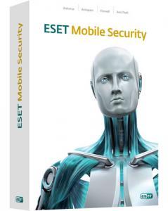 ESET NOD32 Mobile Security. Изображение коробки.
