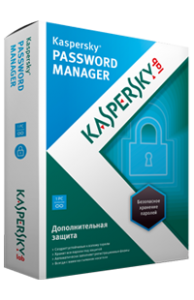 Касперский Password Manager. Изображение коробки.
